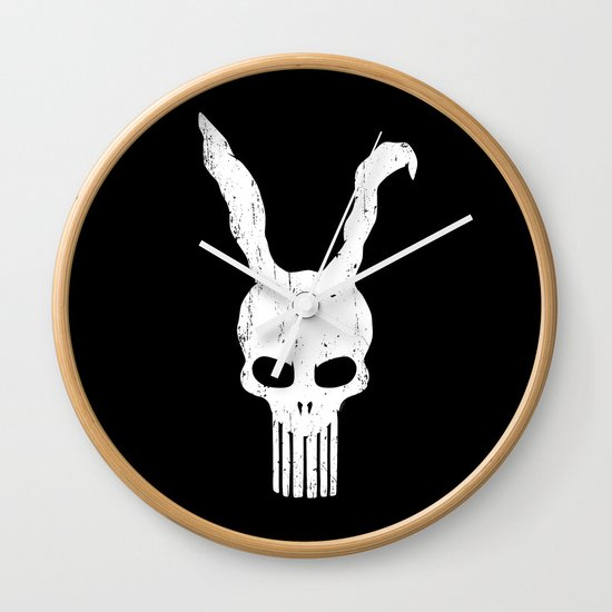 The Bunnisher Wall Clock