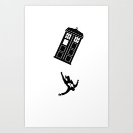 Doctor Who - Mad Men Art Print