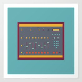 EMU SP1200 Sampler Art Print
