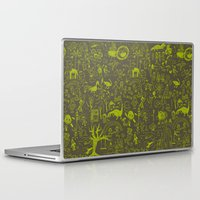 doodle Laptop & iPad Skins featuring Doodle by Sarinya  Withaya
