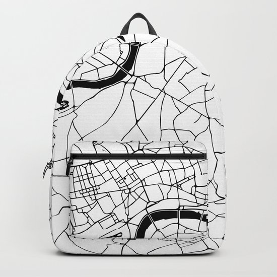 London Minimal Map Backpack