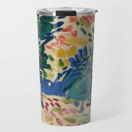 Landscape at Collioure - Henri Matisse - Exhibition Poster Travel Mug