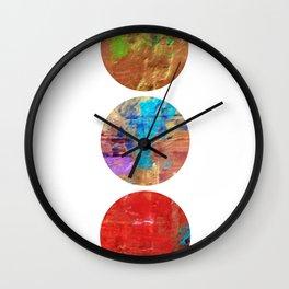 More than gold rings Wall Clock
