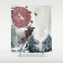 The Nature of Analysis Shower Curtain