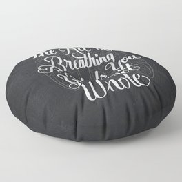 Breathing Floor Pillow