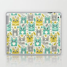 Tiki Kitty Laptop & iPad Skin