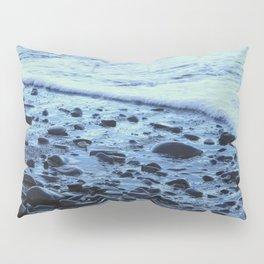 Waves on the Beach Photography Print Pillow Sham