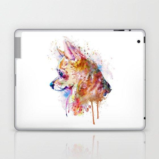 Watercolor Chihuahua Laptop & iPad Skin