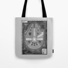 Popography: Kessel Crater Tote Bag