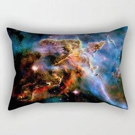 GAlAxY : Mystic Mountain Nebula Rectangular Pillow