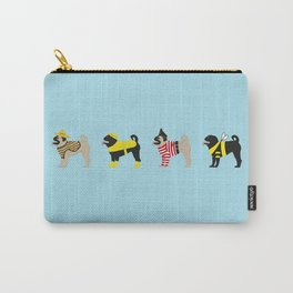 Pugs on Parade Carry-All Pouch