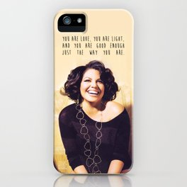 Sara Ramirez iPhone Case