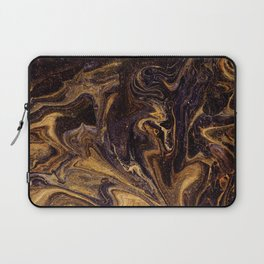 Chocolate and Gold Laptop Sleeve