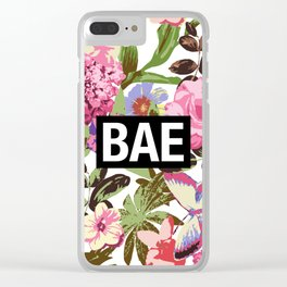 BAE Clear iPhone Case