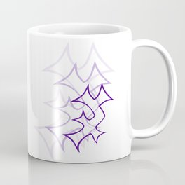 Ambiguous Enochian A for light backgrounds Coffee Mug
