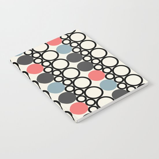 circle pattern Notebook