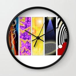 Abstract Music Wall Clock