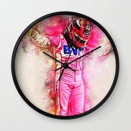 Sergio Perez Wall Clock