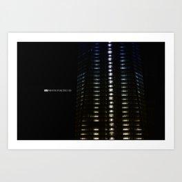 Manhattan Skyline Series 005 Art Print