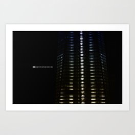 Manhattan Skyline Series 005 Art Print