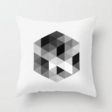 Geo Hex 02. Throw Pillow
