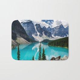 Lake Moraine Banff Bath Mat