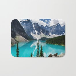 Lake Moraine Banff Bath Mat