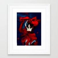valentines Framed Art Prints featuring Valentines by Yannomi