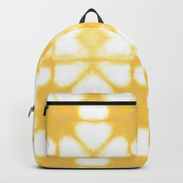 Shibori Ahi Yellow Backpack