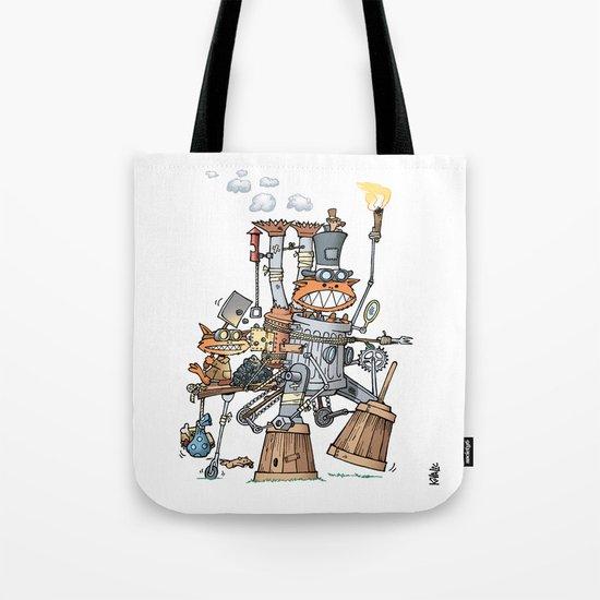 Steampunk Kobolds Tote Bag