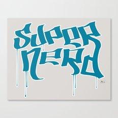 Super Nerd Canvas Print