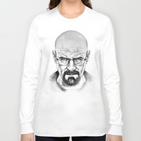 walter white Long Sleeve T-shirts featuring Walter White by 13 Styx