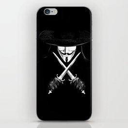 V for Vendetta (e7) iPhone Skin