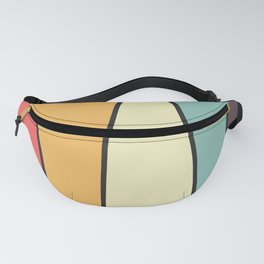 Colorful Mountain Fanny Pack