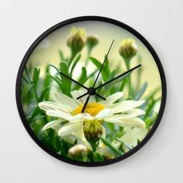 Summer Fowers 277 Wall Clock
