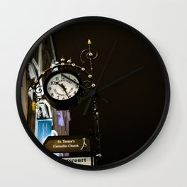 Clock in Grafton street, Dublin Wall Clock