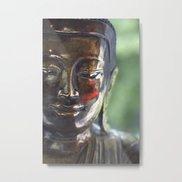 Buddha with a blush Metal Print
