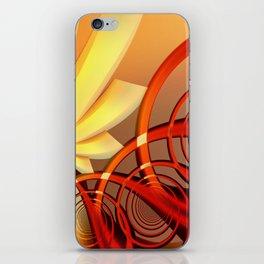 Circling 2 Abstract Fractal Art iPhone Skin