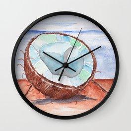 Coco-nut Sunday Wall Clock