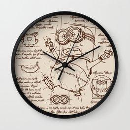 Minion Plan Wall Clock