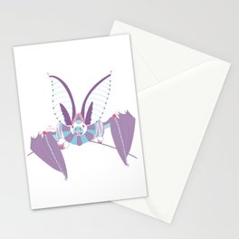 Robot Bat Stationery Cards