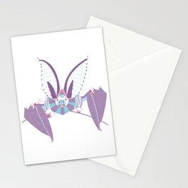 Robot Bat Stationery Cards