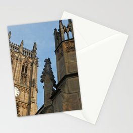 gothic tower - leeds minster Stationery Cards