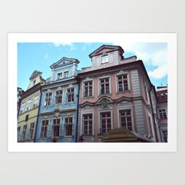 Malostrana, Prague. Art Print
