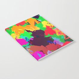 Petal Party Color Slapped Notebook