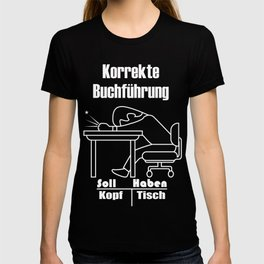 Correct Bookkeeping Accountant Shall Gift T-shirt