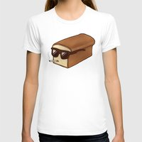 bread T-shirts featuring Cool Bread by Josh LaFayette