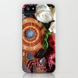 Dita Veres/ Albanian Ostara  iPhone Case
