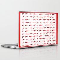 guns Laptop & iPad Skins featuring Guns by Abdelati Dinar