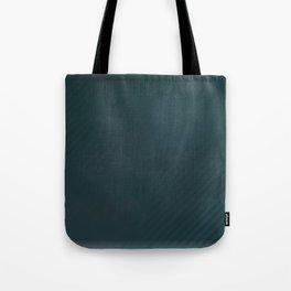 BLADE jade blue solid gem tone distressed with subtle stripes Tote Bag